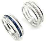 2015卸し売り最上質の宗教宝石類の銀の魅力のリングR10531