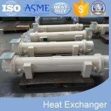 Tube d'interpréteur de commandes interactif d'ailette dans l'échangeur de chaleur de tube avec ASME