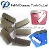 Segmento de pulido de hormigón para el Metal Pad Piedra piso mojado Herramientas