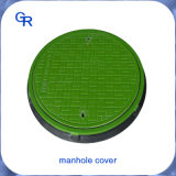 Tampas de câmara de visita do material composto do cinto verde