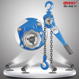 0.5 tonne Manual Chain Hoist Lever Block pour Material Lifting