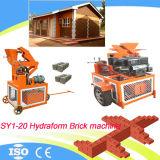 공장 아프리카에 있는 기계를 만드는 직접 판매 가격 Sy1-20 유압 맞물리는 찰흙 멕시코 벽돌