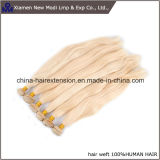 Tessuto biondo di trama brasiliano dei capelli umani dei capelli umani
