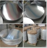 Placa do alumínio do desenho profundo/a de alumínio do círculo para a tampa da iluminação (A1050 1060 1100 3003)