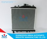 Auto radiador de alumínio para o orgulho 93 de Hyundai KIA em