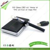 최신 판매! ! ! 증권 판매 다채로운 격상된 510 Clearomizer E Cig 시동기 장비 510 스레드 Vape 펜