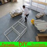 Изготовленный на заказ портативная модульная витрина индикации выставки торговой выставки DIY