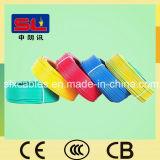 Einkerniger 7 elektrischer Draht des Strang Belüftung-Kabel-4mm2