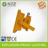 Освещение Zone1 доказательства СИД пламестойкnNs анти-, 2 зона 21, 22 Atex + стандарт Iecex используемый в взрывно бензоколонке атмосфер, химически заводе