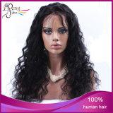 Parrucca piena del merletto del merletto della parrucca 100% dei capelli umani dell'onda piena del corpo