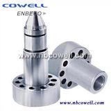 Extremidad del tornillo del barril del tornillo para la máquina plástica