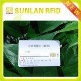 Kaart NFC de Zonder contact van pvc ISO14443A 13.56MHz met de Druk van het Embleem