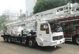 Plate-forme de forage Camion-Montée par HOWO professionnelle de faisceau de puits d'eau d'approvisionnement de la profondeur 400meters