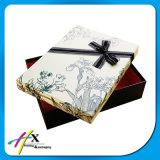 Коробка подарка оптового изготовленный на заказ шарфа печатание упаковывая бумажная с крышкой