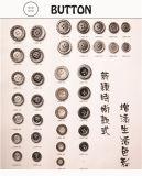 El botón de la aleación y del cobre muere las piezas para los varios botones y máquinas