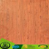 Papel decorativo da grão de madeira aprovada do Fsc para a mobília