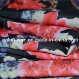 Ткань напечатанная полиэфиром шифоновая для одежды/Abaya/платья/шали