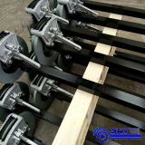 Fábrica de Abastecimento Cama Baixa Flat Full Trailer para Industrial