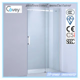 Deslizando a porta do chuveiro/tela de chuveiro com vidro Tempered (A-KW04-D)