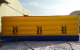 parco di divertimenti Inflatable Bungee Run di 10.7X4.6X1.2m Outdoor Playground per 3 Players