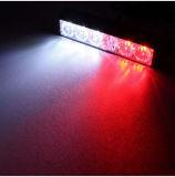 Het in het groot Licht van het Waarschuwingssignaal van de Auto Opvlammende Met 18W 1080lm 6-geleide gelijkstroom 12-24V, de Lengte van de Draad: 90cm