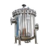 Cárter del filtro de agua de los Multi-Bolsos de la gota de una presión más inferior