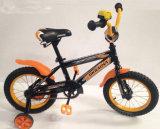Gelbes Farben-Mädchen-Fahrrad für Kinder/Großhandelskind-Fahrrad für Kinder mit Trainings-Rädern