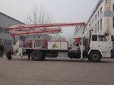 Bomba concreta montada caminhão do crescimento