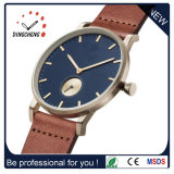 Vigilanza del quarzo delle donne del regalo dell'orologio di modo degli uomini poco costosi della vigilanza