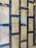 Testo fisso della decorazione della parete dell'acciaio inossidabile di rivestimento dello specchio del nero di profilo del testo fisso delle mattonelle di ceramica