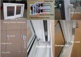 Дешевое UPVC сползая стекло Windows одиночное
