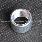 Noix ronde d'acier du carbone avec galvanisé