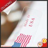 Gli accessori per il vestiario popolari comerciano la modifica all'ingrosso poco costosa su ordinazione di caduta del Hangtag del PVC