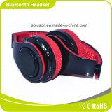 LED che illumina la cuffia portatile pieghevole di Smartphone Bluetooth di musica di modo basso stereo di potere