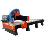 router do CNC 3D que cinzela a maquinaria da estaca de máquina