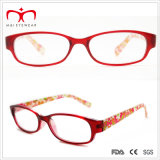 Повелительницы Plastic Reading Glasses с Flower Paper Transfer (WRP409024)
