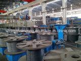 Гальванизировать стальной провод делая поставщика машины