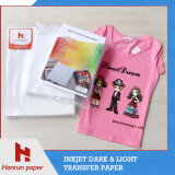 Easy Cutting Dark T-Shirttransfer Paper para T Shirts