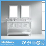 مترف مجوّفة غرفة حمّام تخزين مع 2 مرآة و2 حوض ([بف184و])
