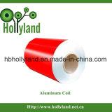 De in reliëf gemaakte Met een laag bedekte Rol van het Metaal (ALC1111)