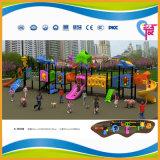子供(A-15084)のための引き付けられた大きいスライドの屋外の運動場