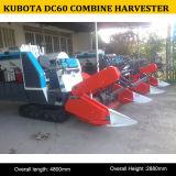 Qualité de petite moissonneuse de cartel de 60HP Kubota DC60, moissonneuse de cartel de riz DC60