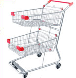 Qualidade superior, fábrica direta, uso do supermercado, trole de compra (JT-E02)