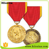 Médailles en gros de médaille en métal 2016 et d'or de coutume