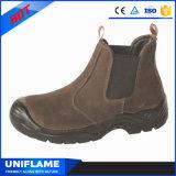 Стильно отсутствие женщины ботинок безопасности шнурка