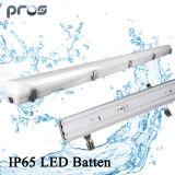 Luz LED LED IPR de 1,2 m 40W para estacionamento de armazém