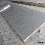 Surface solide en pierre acrylique de marbre artificielle de Corian (feuille extérieure KKR-Solide)