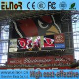 Preço ao ar livre da tela do diodo emissor de luz P10 da melhor luz do preço ultra
