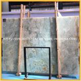 Lajes azuis do Onyx da pedra natural do material de construção para telhas ou revestimento da parede