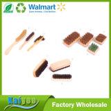 卸し売りカスタム耐久のクリーニングの木製の靴のブラシ